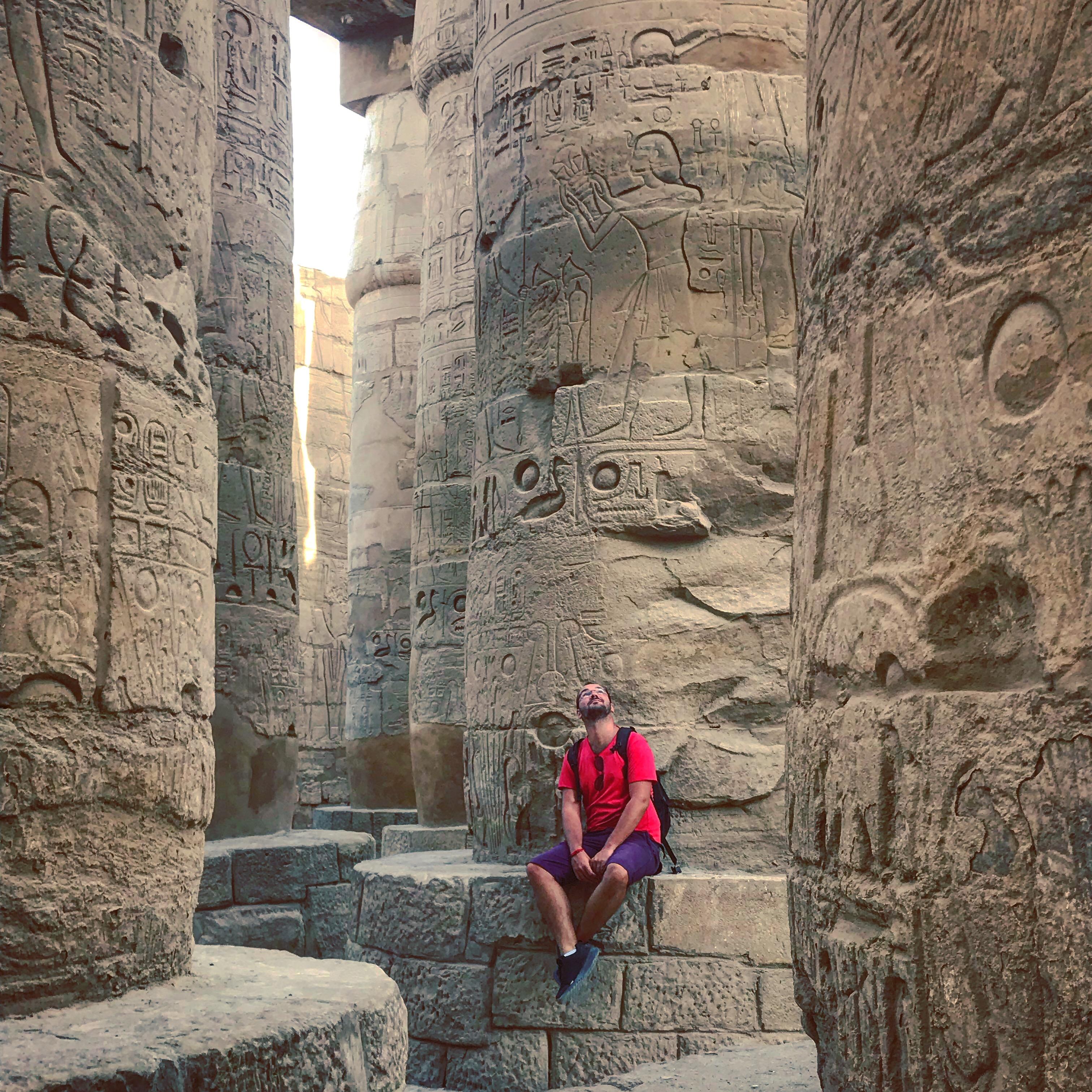 Karnak v egypte
