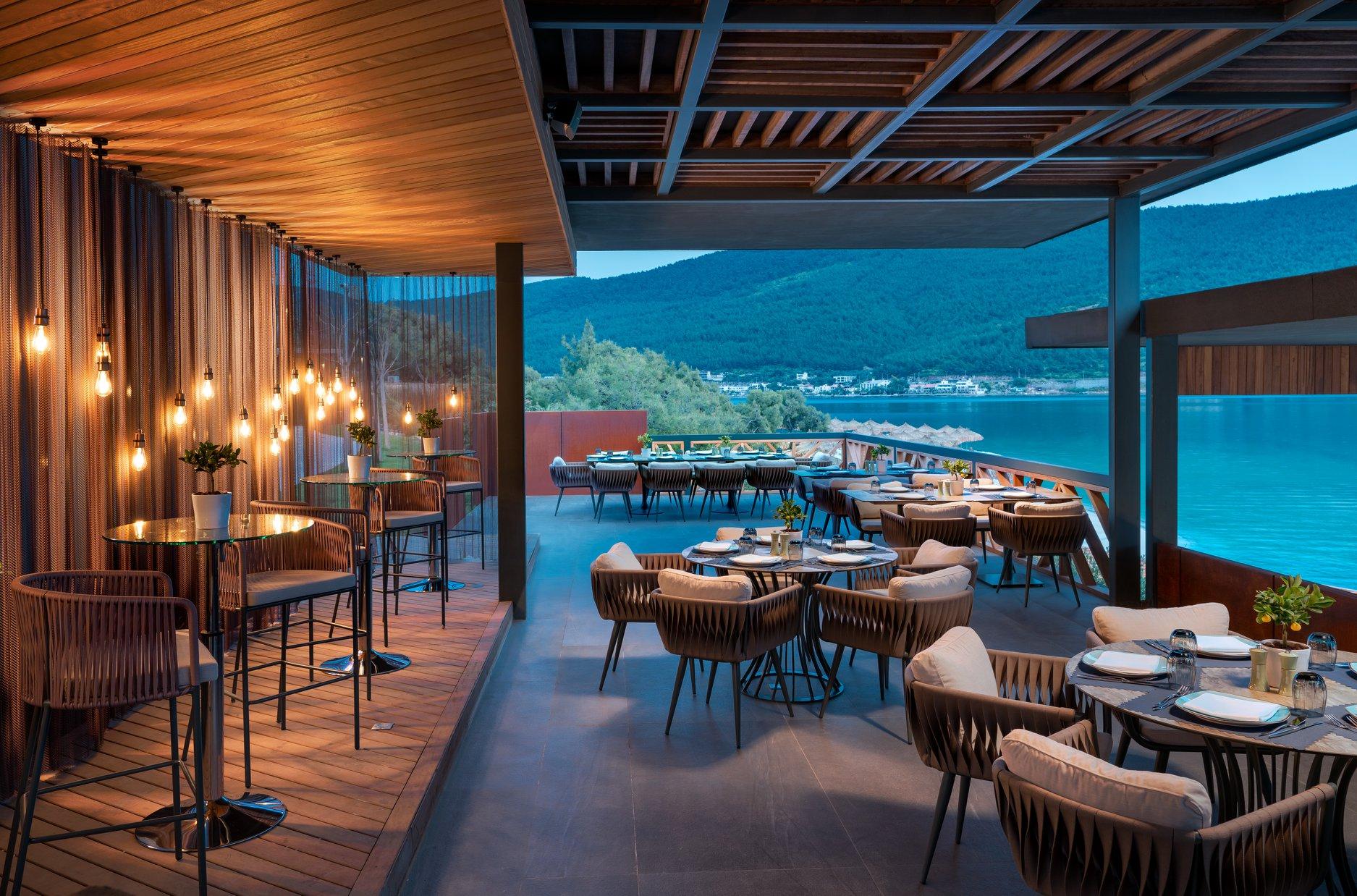 Reštaurácia hotela lujo bordum v turecku