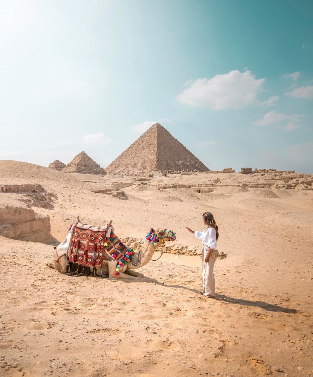 Pyramídy v gize v egypte