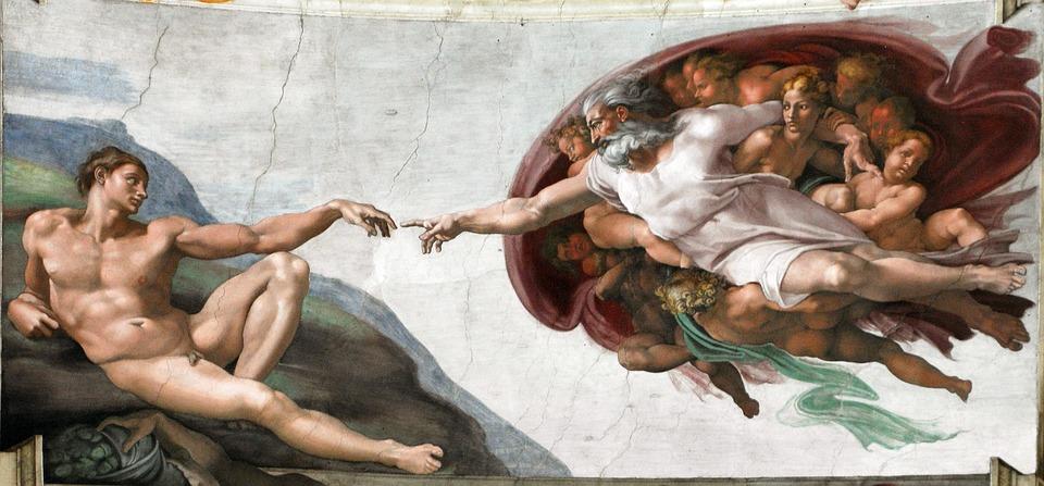 Freska v sixtínskej kaplnke od michelangela