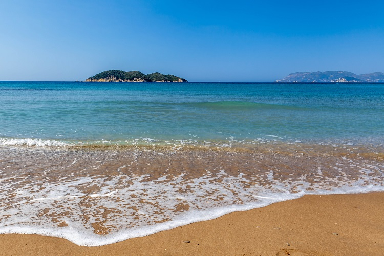 Pláž Dafni Beach na Zakyntose