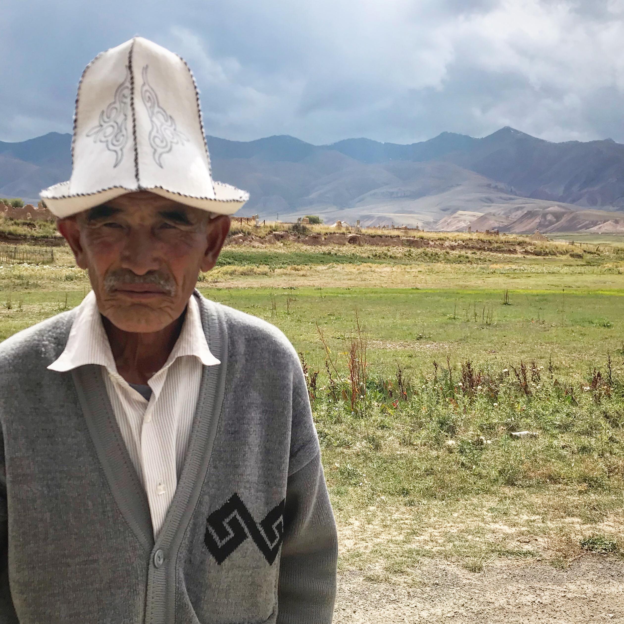 Miestny pán v kirgizsku