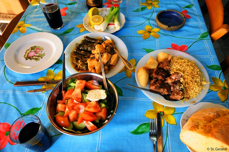 Jedlo na severnom cypre