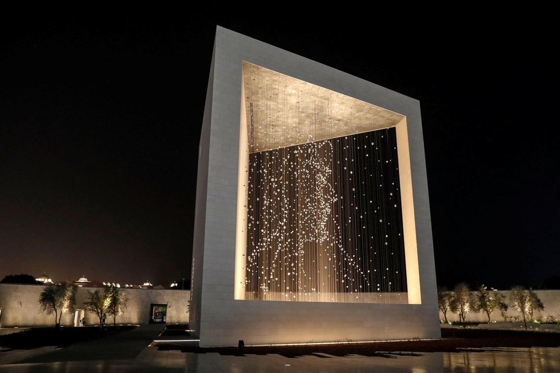 Pamätník zakladateľovi v abú dhabí