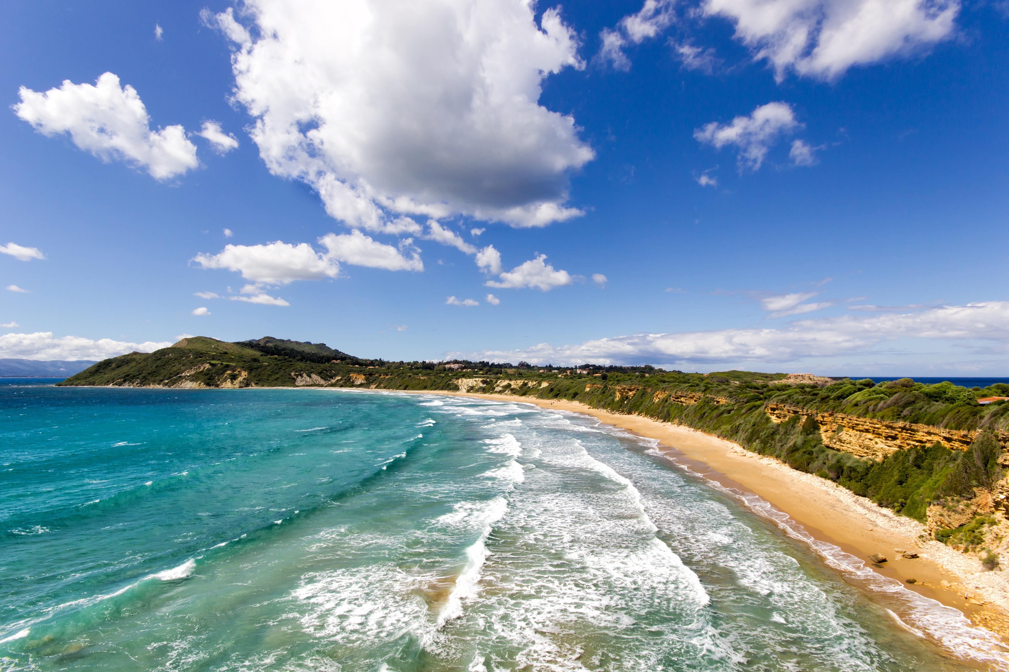 Pláž Gerakas na Zakyntose