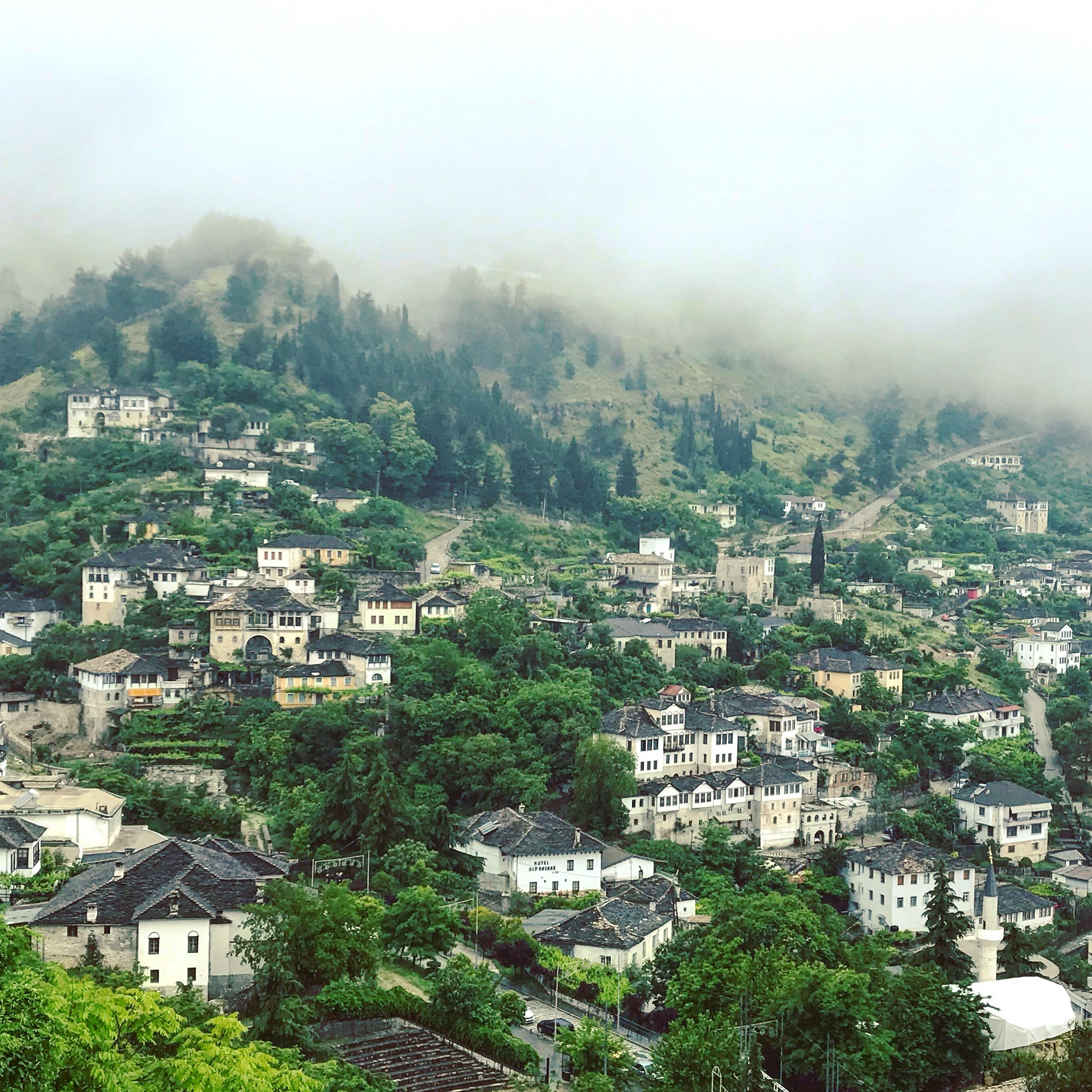 Girokastra v albánsku