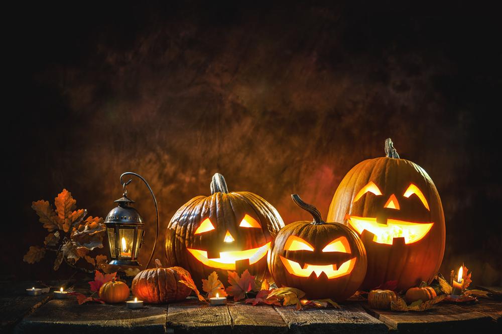Vyrezávané tekvice na Halloween
