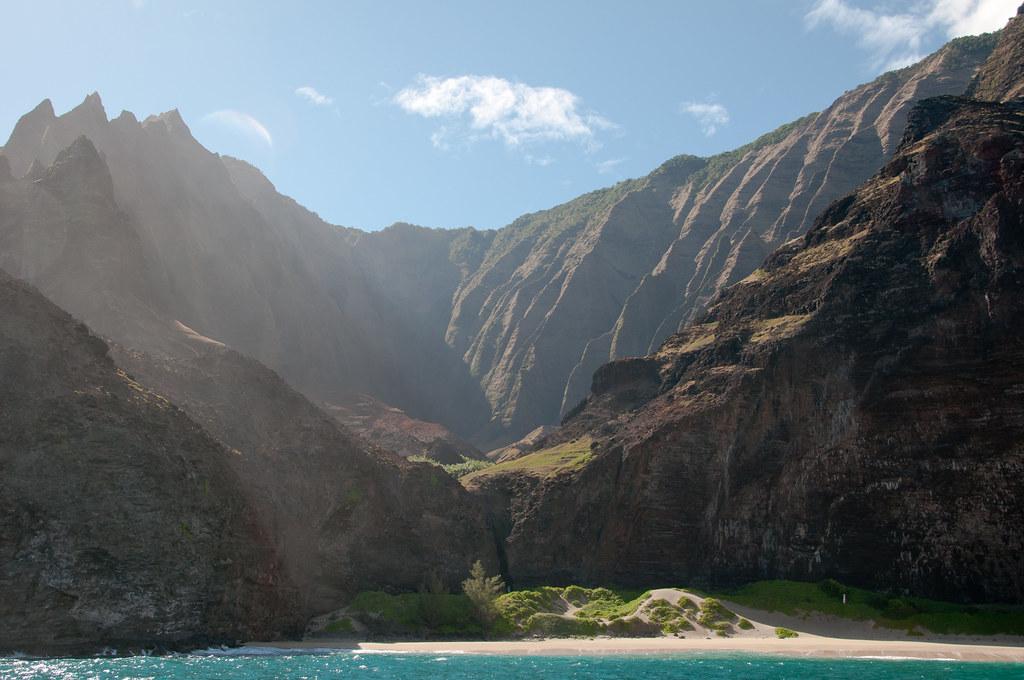 Honopu beach na hawaii