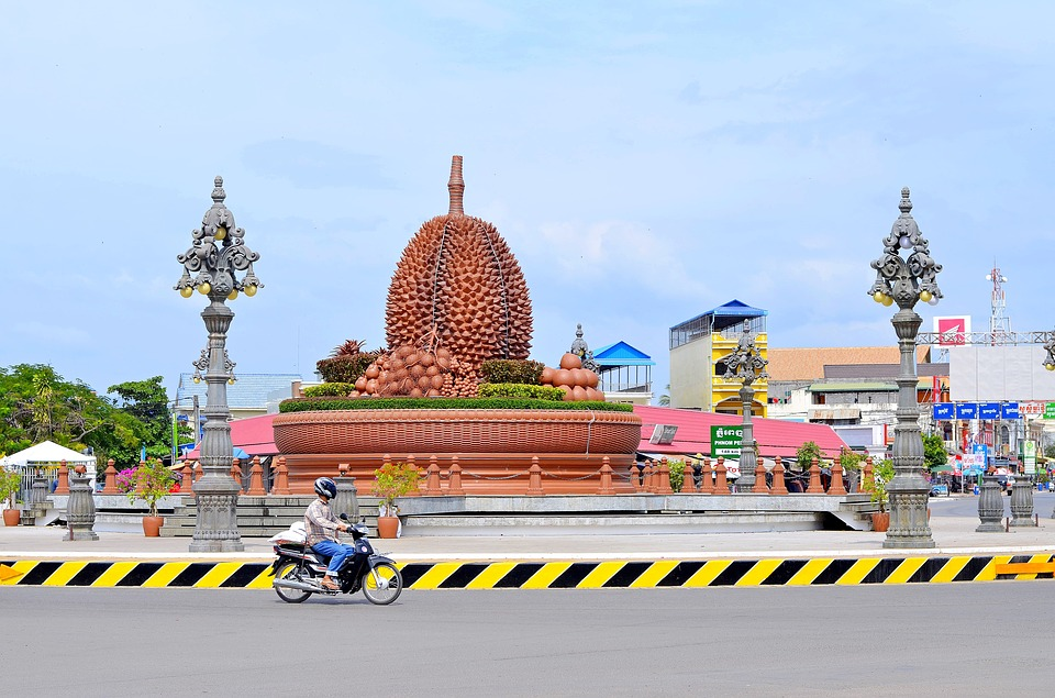 Mesto kep v kambodži