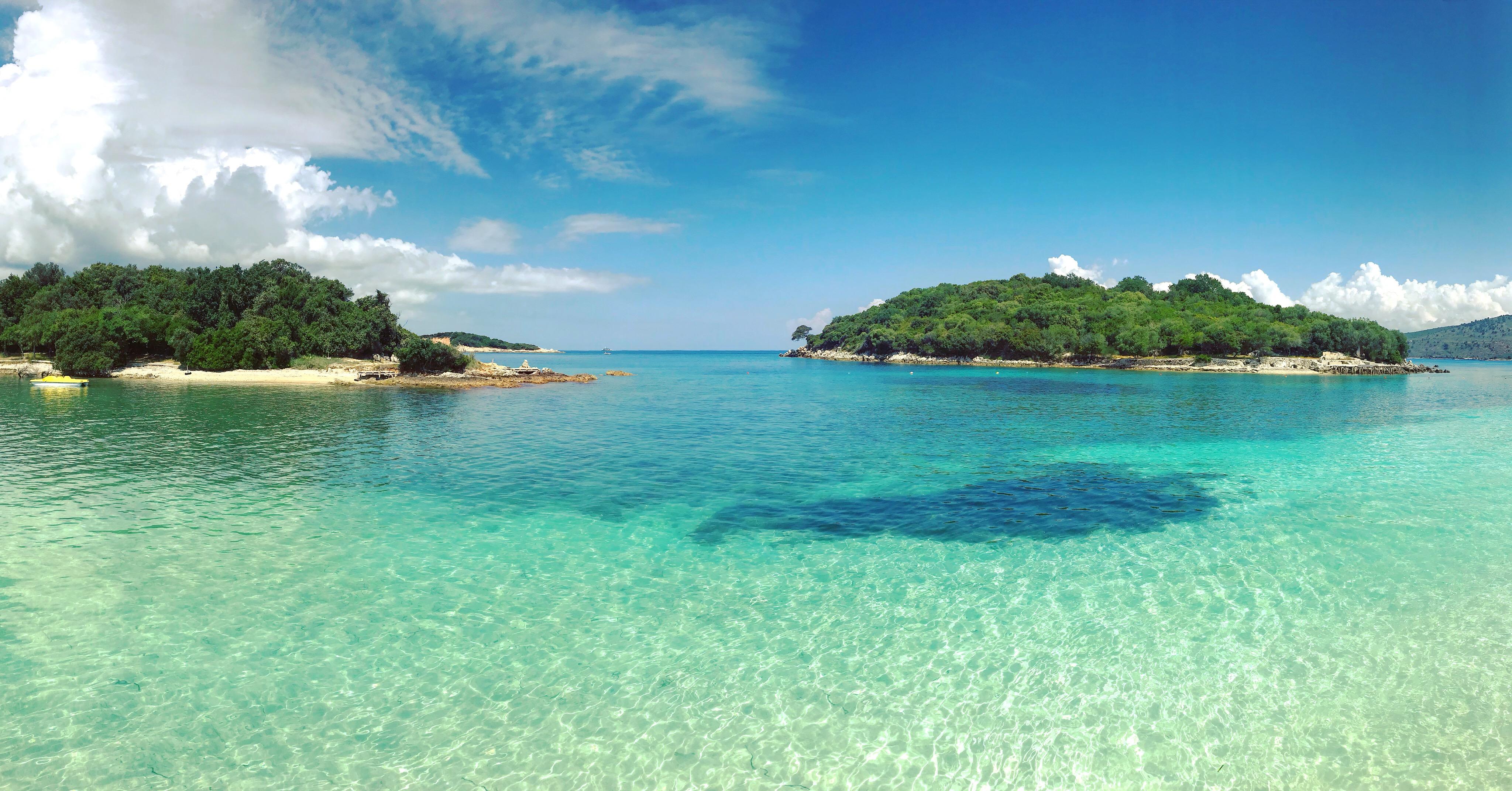 Ksamilské ostrovy v albánsku