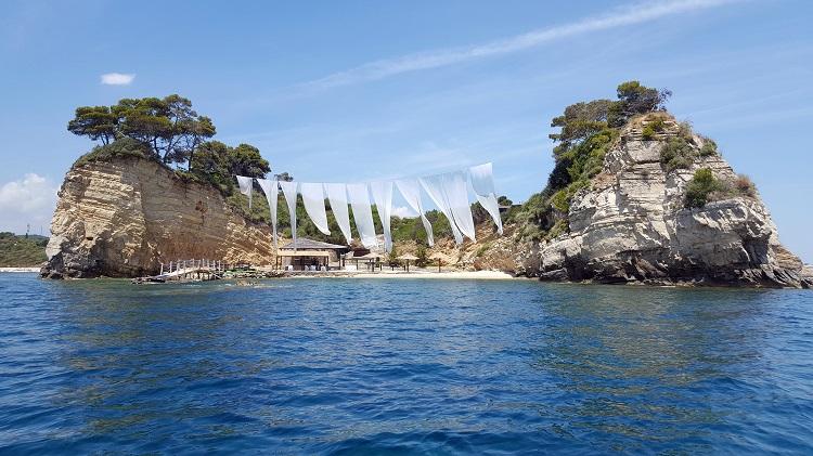 Ostrov Laganos nas Zakyntose