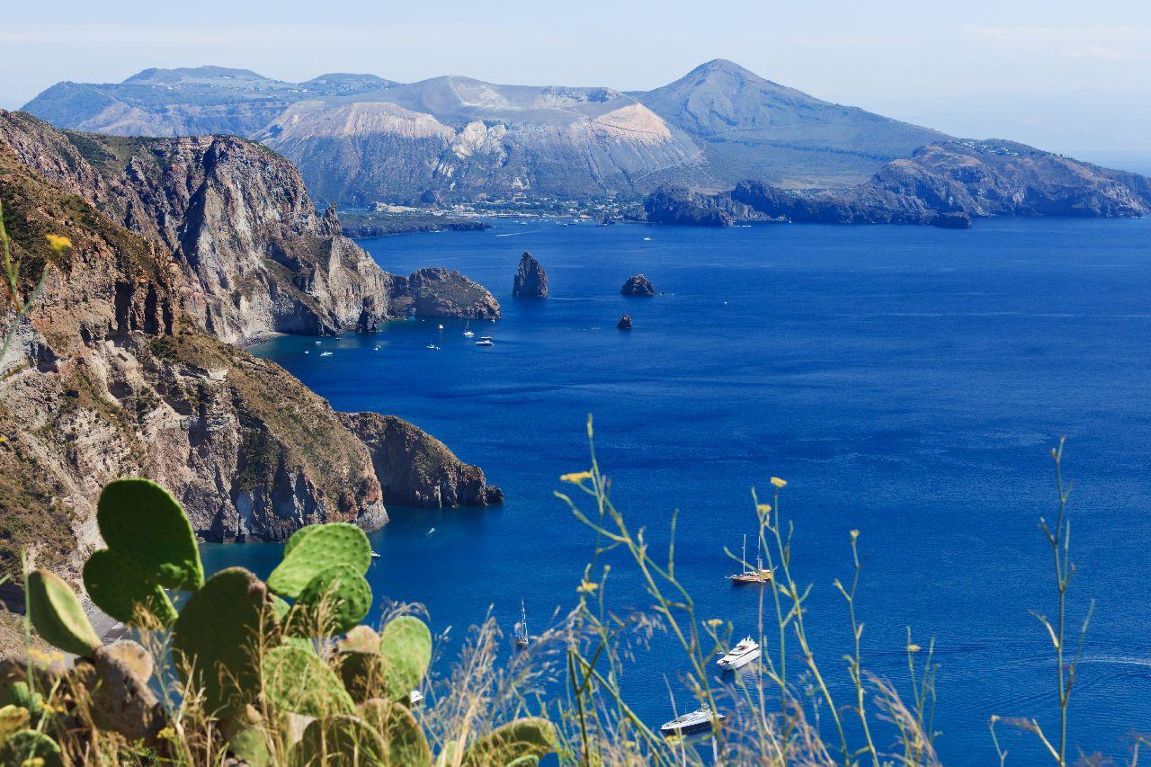 Liparské ostrovy pri sicílii