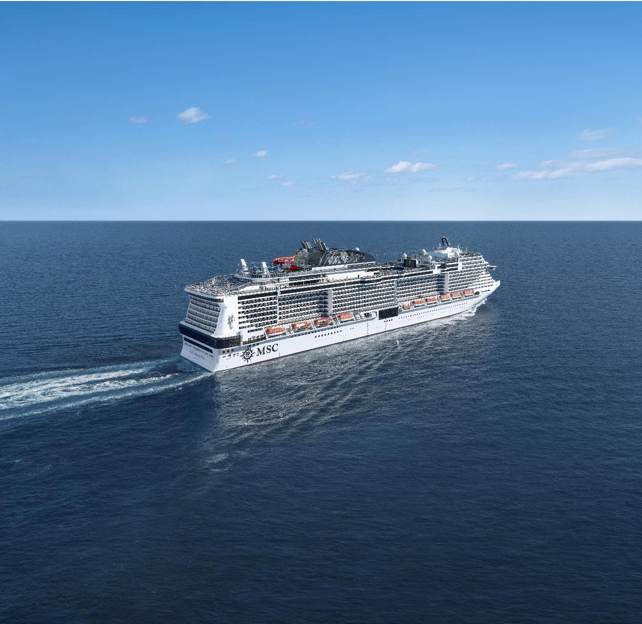 Výletná loď msc bellissima