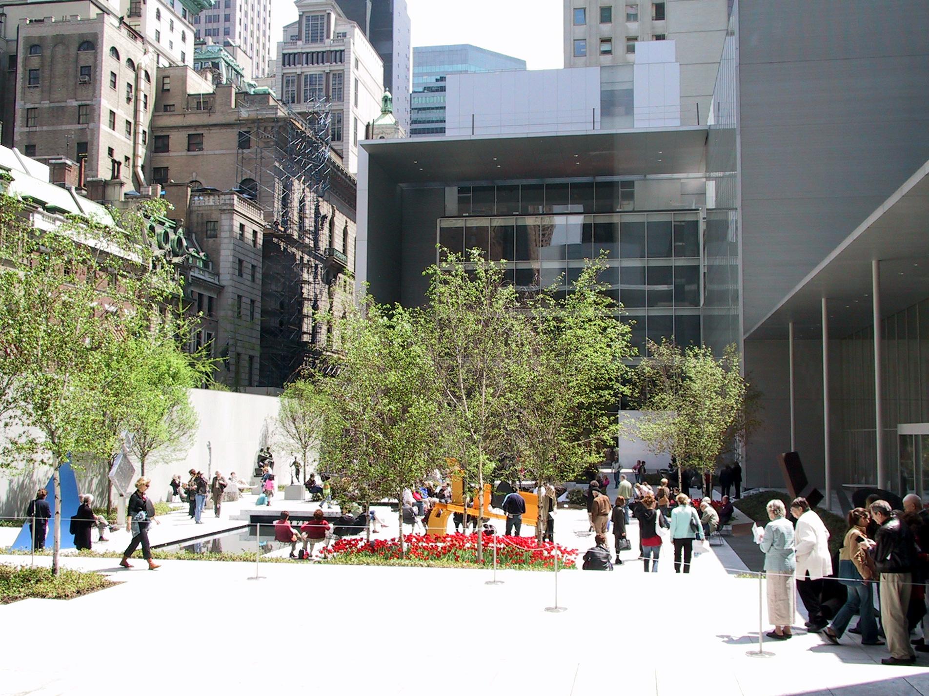 Múzeum moderného umenia v new yorku