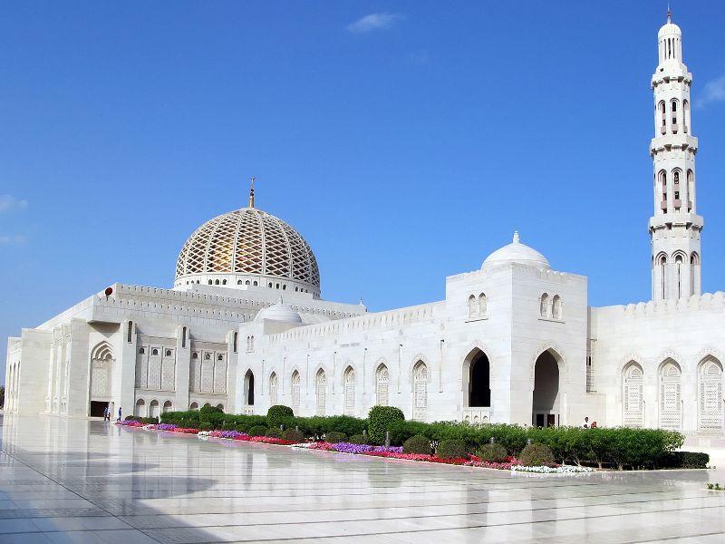 Mešita sultána quaboosa v muscate