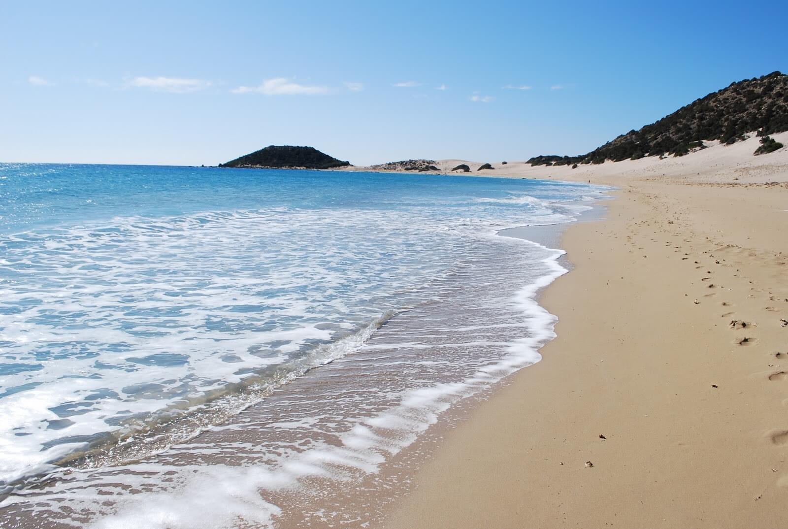 Pláž Paramali Beach na Cypre