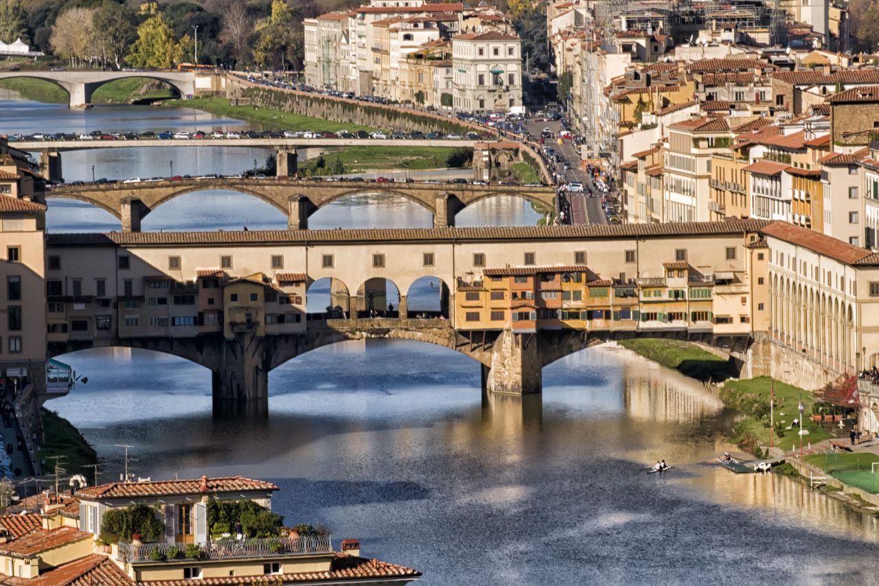 Mosty talianskej florencie