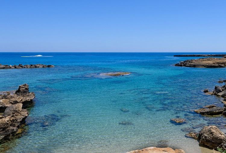 Pláž Protaras na Cypre