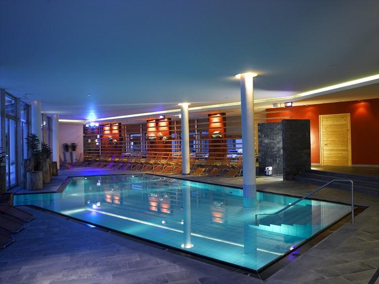 Bazén hotela falkensteiner katschberg v rakúsku
