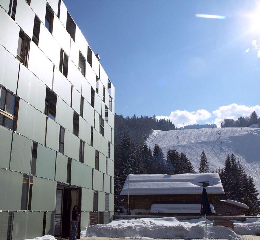 Budova hotela franz ferdinand
