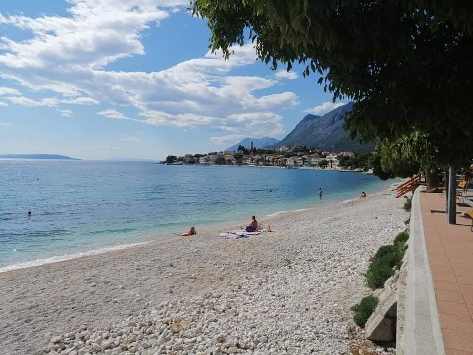 Pláž v chorvátsku