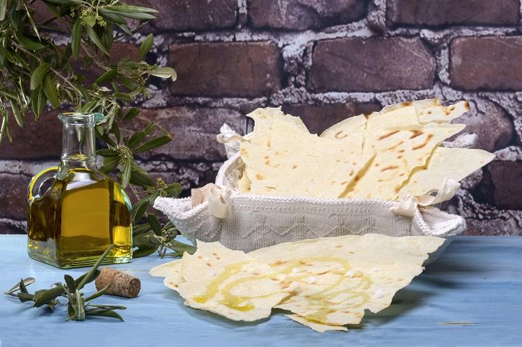 chlieb na sardínii v taliansku