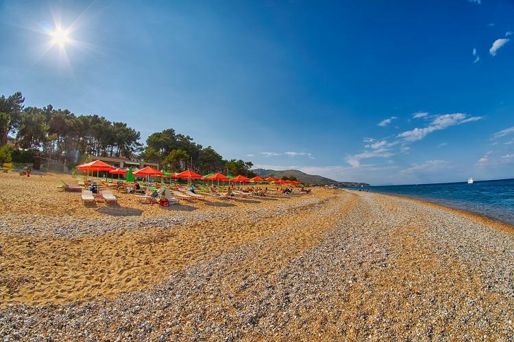 Pláž Skala na Kefalónii