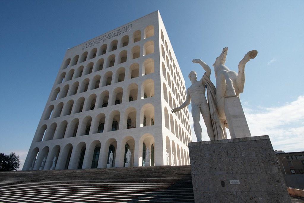 Nové koloseum v ríme