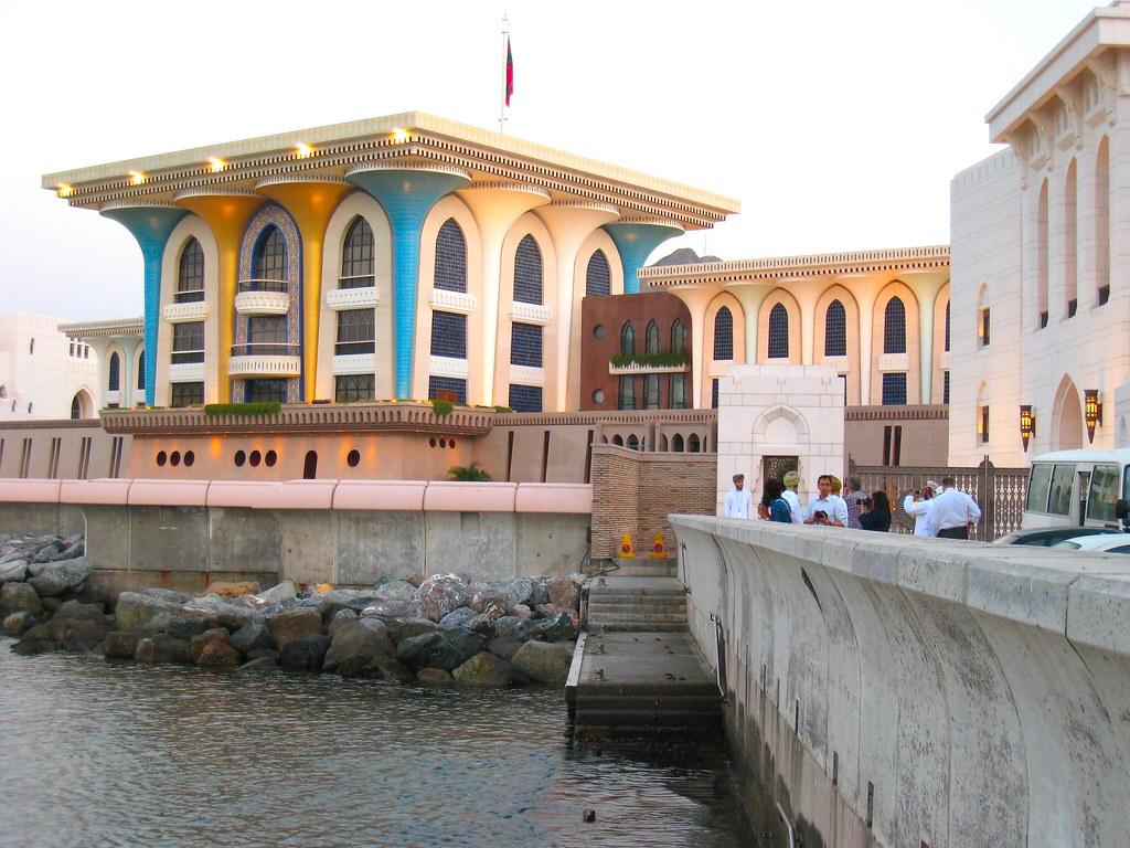 Palác sultána v muscate