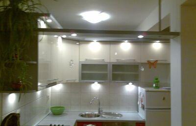 Kuchynský kút v apartmánoch Dom Mario