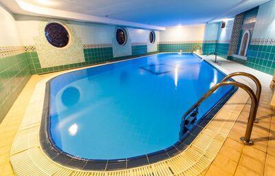 Vnútorný bazén penziónu Sivec