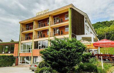 Pohľad na penzión Sivec