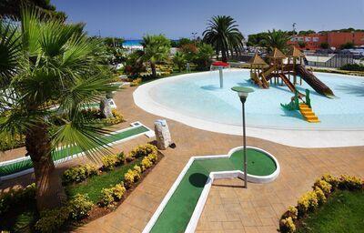 Detský bazén v hoteli Occidental Menorca