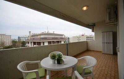 Posedenie na terase v apartmánoch Rezidencia Acapulco