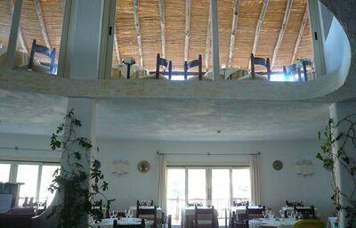 reštaurácia v Club Hotel Baja Sardinia, Sardínia, Taliansko