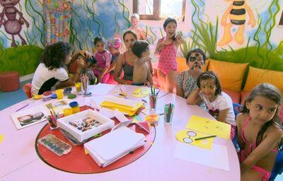 Miniklub s deťmi v hoteli Adalya Elite Lara