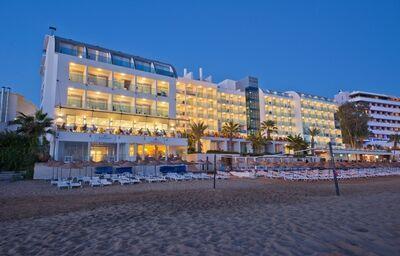 Hotel Yalihan, Alanya, pláž