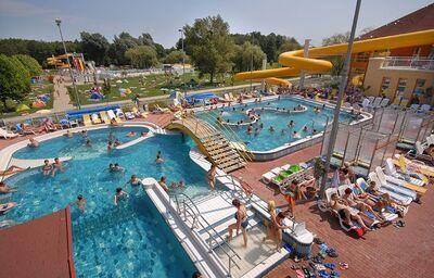Vonkajšie bazény v hoteli Aphrodite Foodness Family