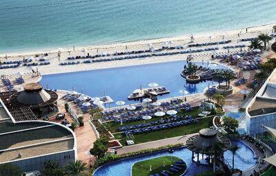 Pohľad na areál hotela Dukes Dubai