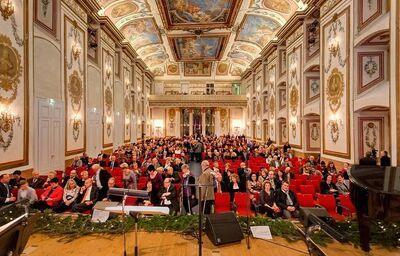 Koncert v nádhernej Haydnovej sále zámku