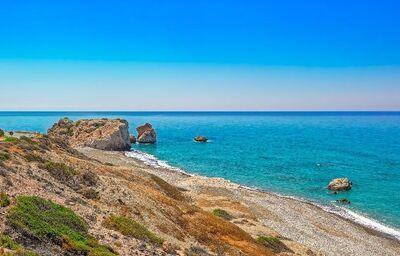 Panoramatický výhľad na Cyprus