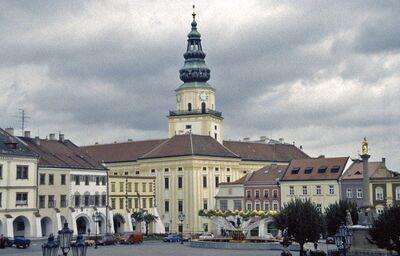 Pohľad na mesto Litomyšl