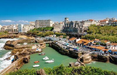 Biarritz, Mestá pod Pyrenejami, poznávací zájazd, Francúzsko