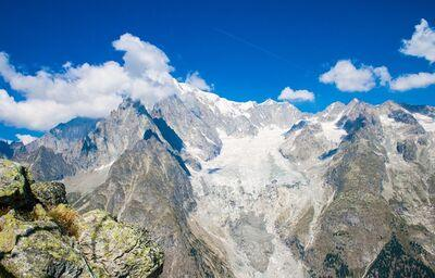 Mont Blanc, poznávací zájazd, Taliansko