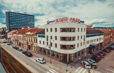 Pohľad na hotel Gloria Palac