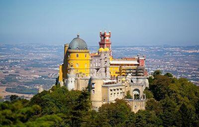 Palác Sintra Pena, poznávací zájazd, Portugalsko