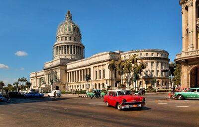 El Capitolio- replika amerického vzoru