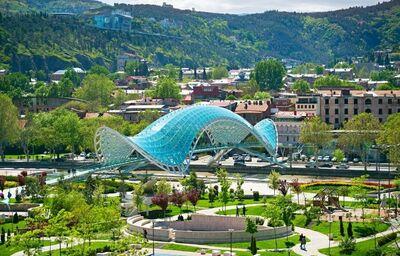 Most mieru v Gruzínsku