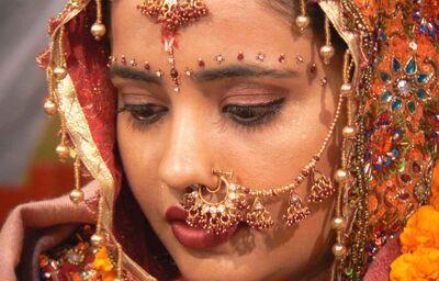 Typická Indická žena