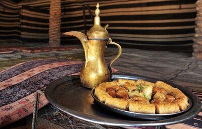 Tradičné jedlo Jordánska